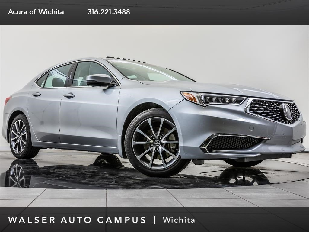 New 2019 Acura TLX 3.5 P-AWS, BT, CarPly, And Auto, Ln Kp
