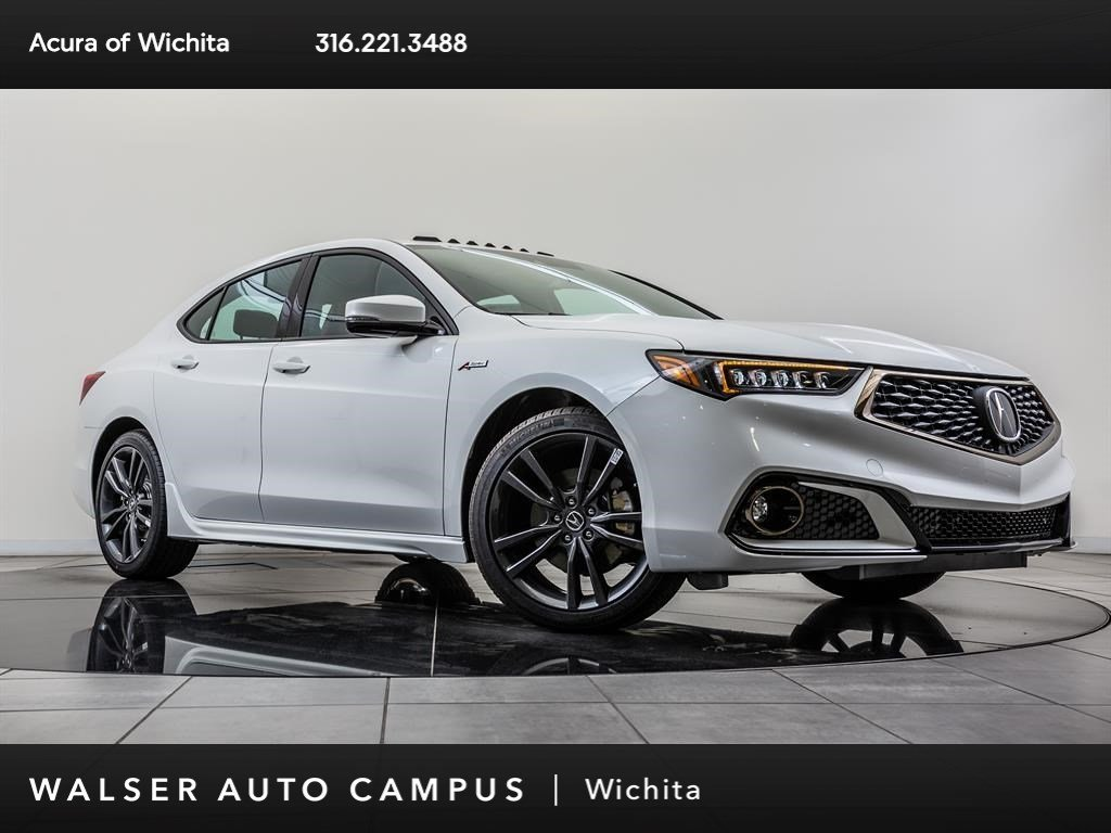 New 2019 Acura TLX 3.5 Tech P-AWS A-SPEC, 19 Whl BT, Red Lthr