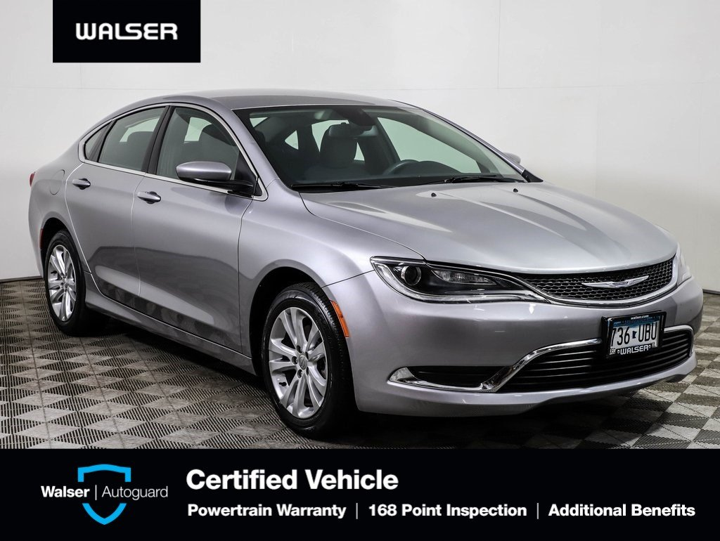 2015 Chrysler 200 For Sale >> Pre Owned 2015 Chrysler 200 Fwd
