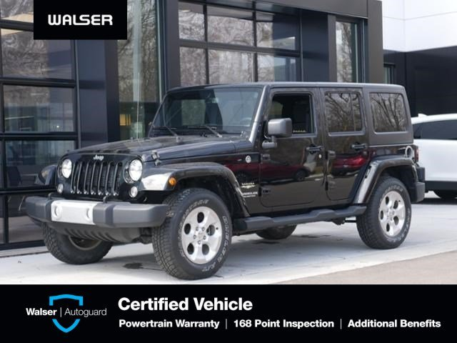 Pre-Owned 2015 Jeep Wrangler Unlimited Unlimited Sahara Hard Top
