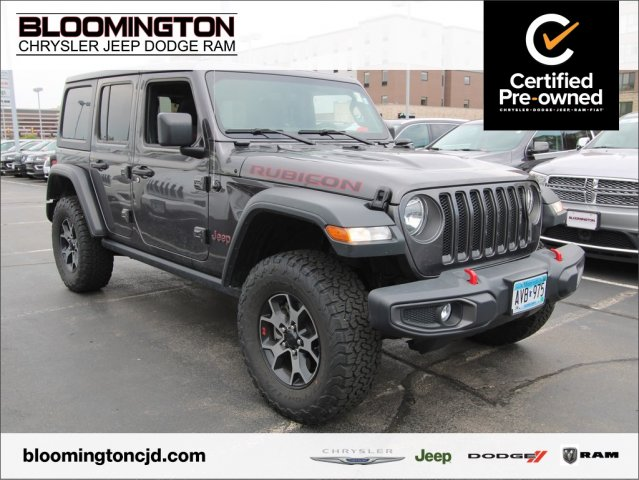 Pre-Owned 2018 Jeep Wrangler Unlimited Unlimited Rubicon 4x4 Auto Navigation Tow