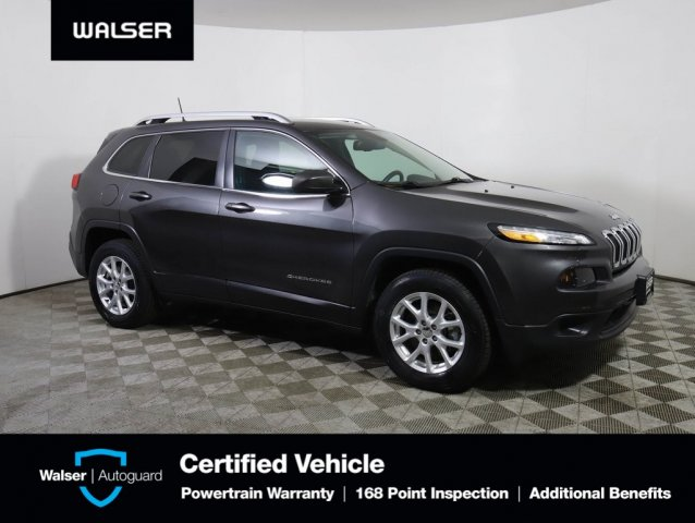 Pre-Owned 2016 Jeep Cherokee LATITUDE HSEATS
