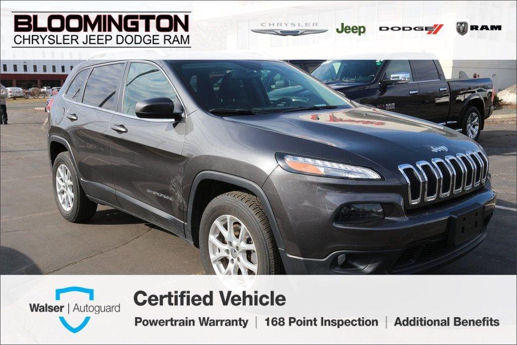 Pre-Owned 2015 Jeep Cherokee CERTIFIED Latitude True North Edition 4x4 V6