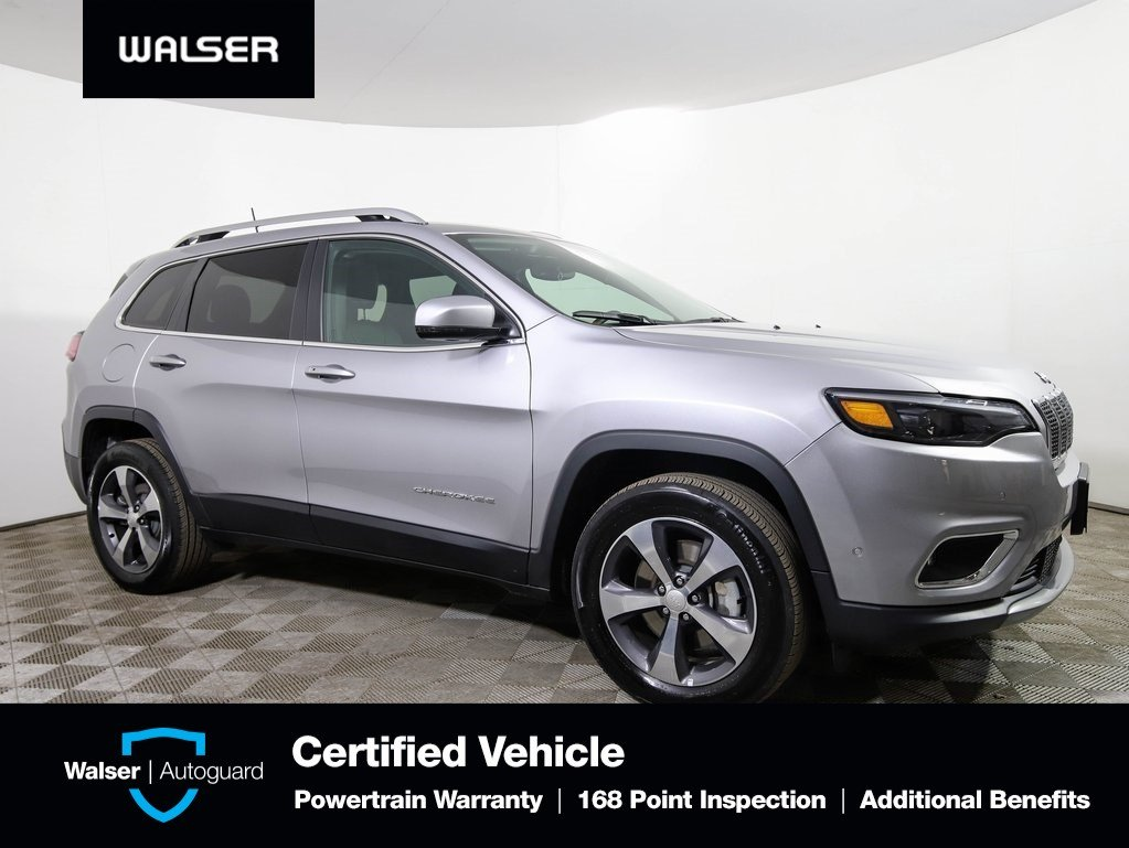 Pre-Owned 2019 Jeep Cherokee LIMITED 4WD TECH