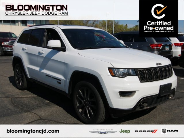 Pre-Owned 2016 Jeep Grand Cherokee CERTIFIED Limited 75th Anniversary Nav Sunroof