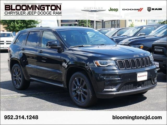 New 2019 Jeep Grand Cherokee High Altitude With Navigation & 4WD