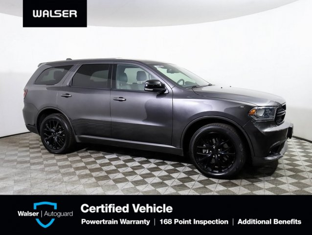 Pre-Owned 2016 Dodge Durango R/T Blacktop Tow