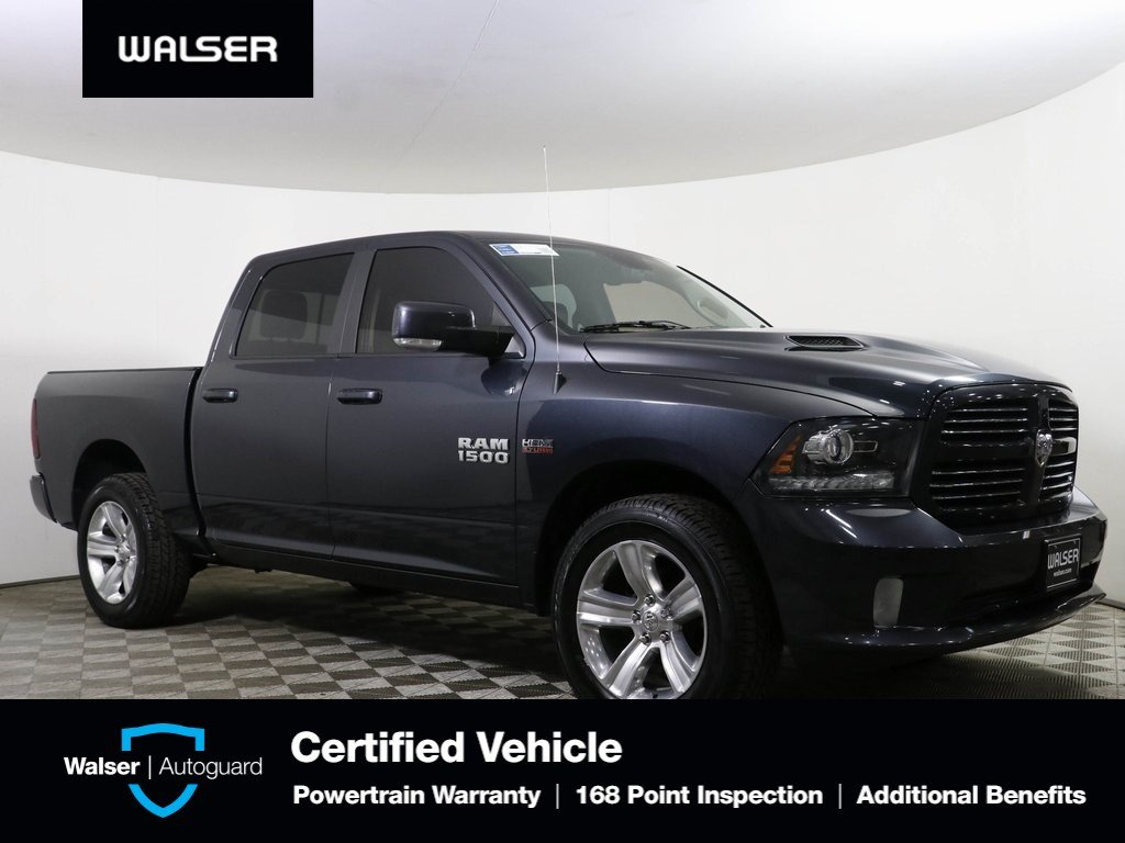 Pre-Owned 2016 Ram 1500 Sport Crew Cab 4WD