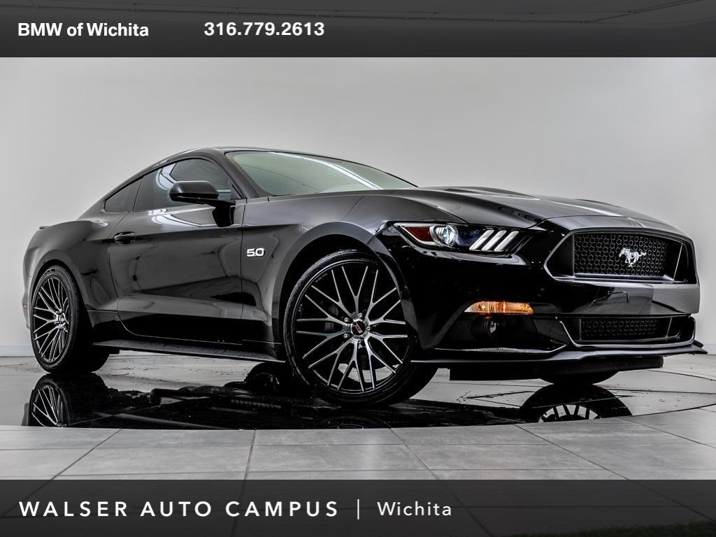 Pre owned 2017 ford mustang gt rear view camera 6 speed automatic