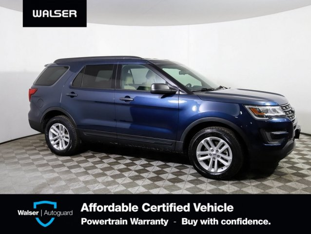 Pre-Owned 2017 Ford Explorer 4WD