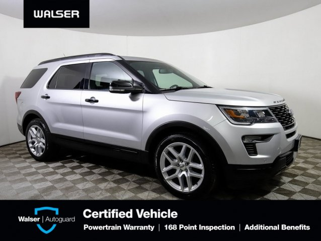 Pre-Owned 2018 Ford Explorer HTD LEATHER NAV