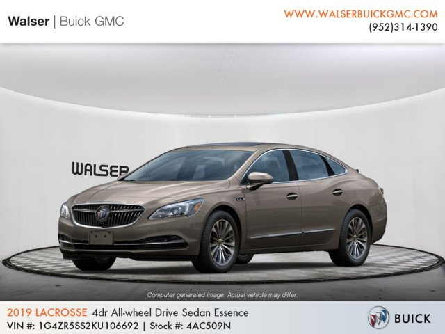 New 2019 Buick LaCrosse Essence AWD
