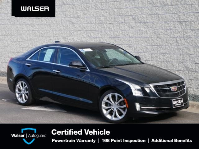Cadillac Ats Sedan >> Pre Owned 2015 Cadillac Ats Sedan Premium Awd Nav Moon V6 Awd