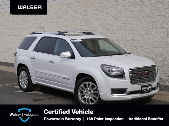 Pre Owned 2016 Gmc Acadia Denali Awd Dvd Dual Moon Htd