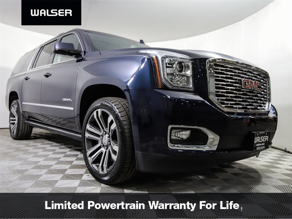 Pre Owned 2018 Gmc Yukon Xl Denali Ultimate 4wd Nav Dvd Sunroof 22 S