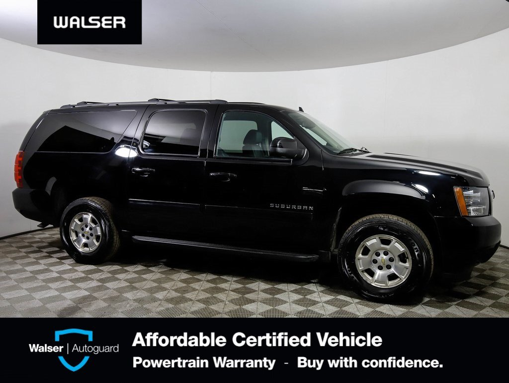 Pre-Owned 2012 Chevrolet Suburban LT 1500 w/ Luxury Package