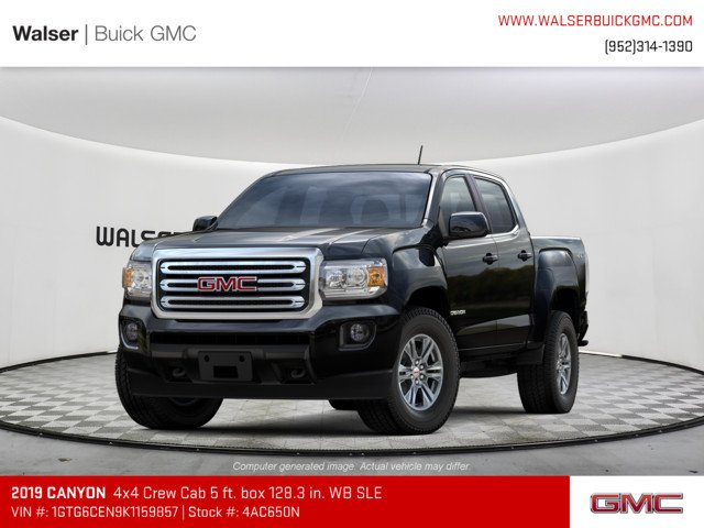 New 2019 GMC Canyon 4WD SLE 4WD