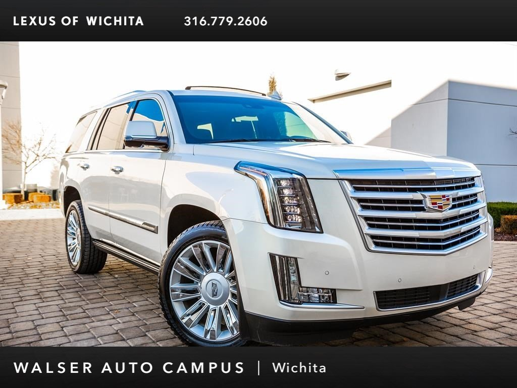 Pre-Owned 2015 Cadillac Escalade Platinum, Rear Seat DVD Entertainment, Navigation