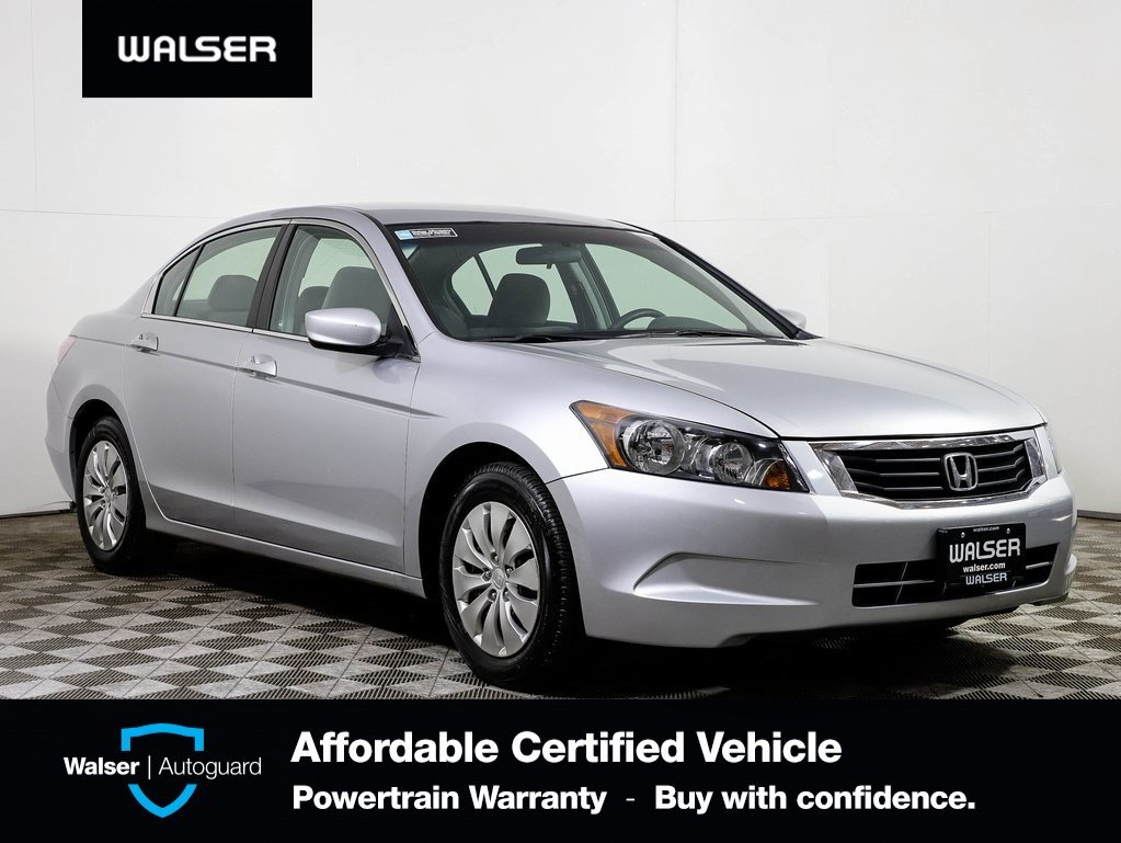 Honda Accord Awd >> Pre Owned 2009 Honda Accord Lx Awd Fwd