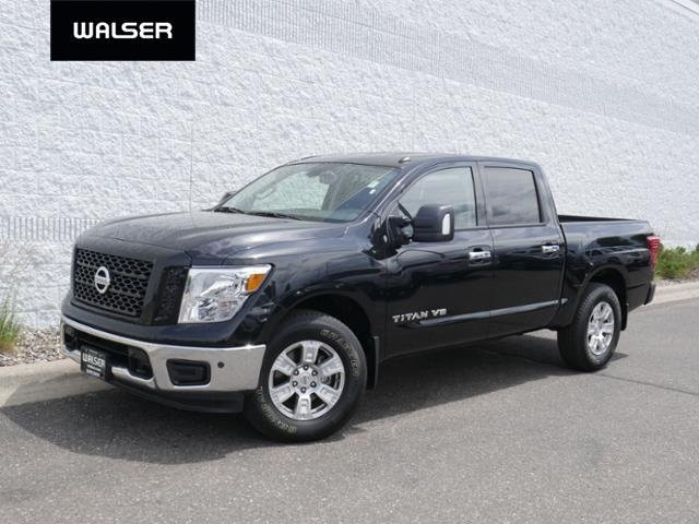 New Nissan Titan >> New 2019 Nissan Titan Sv 4x4 Leather Pkg With Navigation 4wd