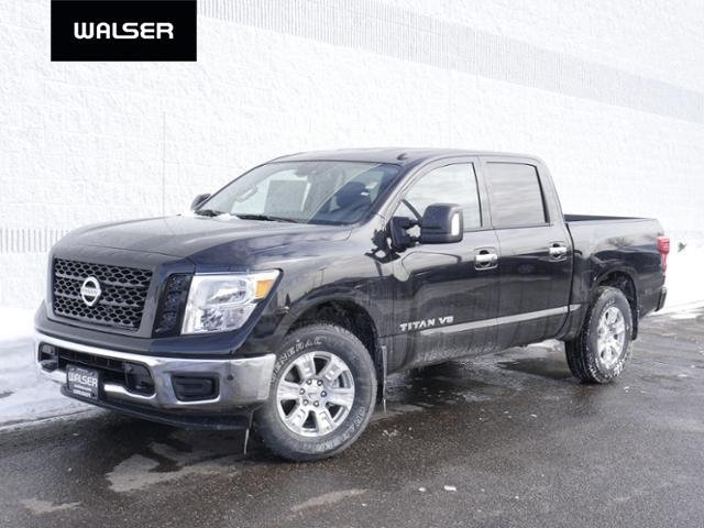 New 2019 Nissan Titan SV 4X4 LEATHER PKG Crew Cab Pickup