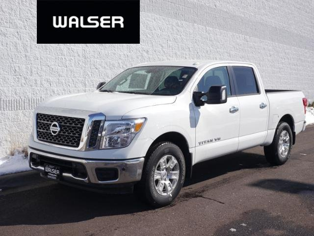 New 2018 Nissan Titan SV 4X4 UTILITY PKG With Navigation & 4WD