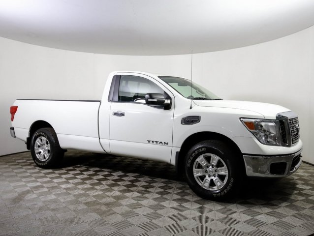 Certified Pre-Owned 2017 Nissan Titan SV SINGLE CAB 4X4
