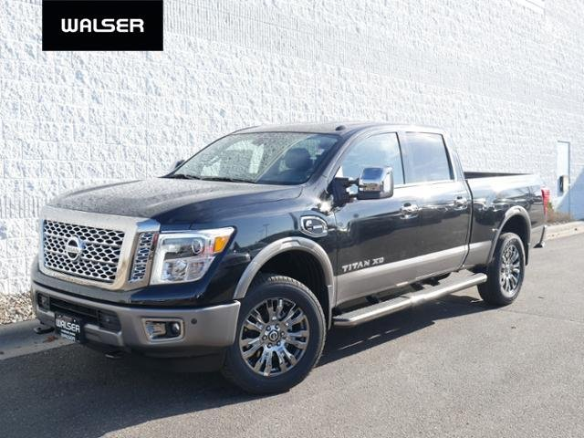 New Nissan Titan >> New 2019 Nissan Titan Xd V8d Platinum 4x4 With Navigation 4wd