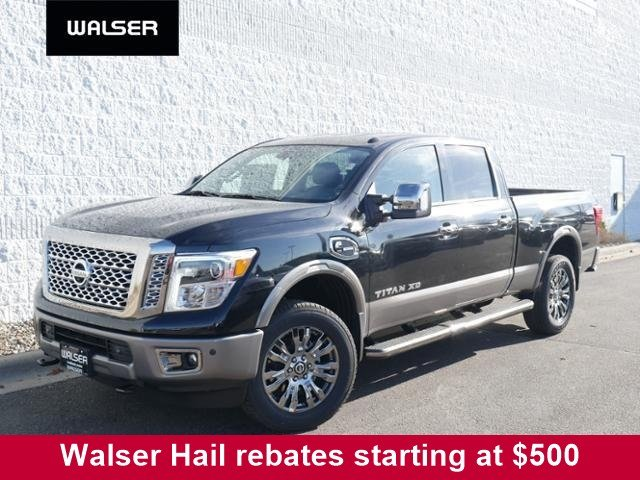 New 2019 Nissan Titan XD V8D PLATINUM 4X4 With Navigation & 4WD