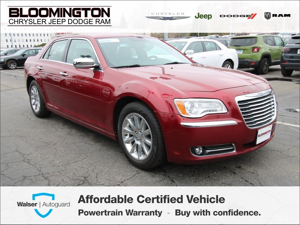 Pre-Owned 2013 Chrysler 300 C V6 RWD Navigation Heated/Vented Seats