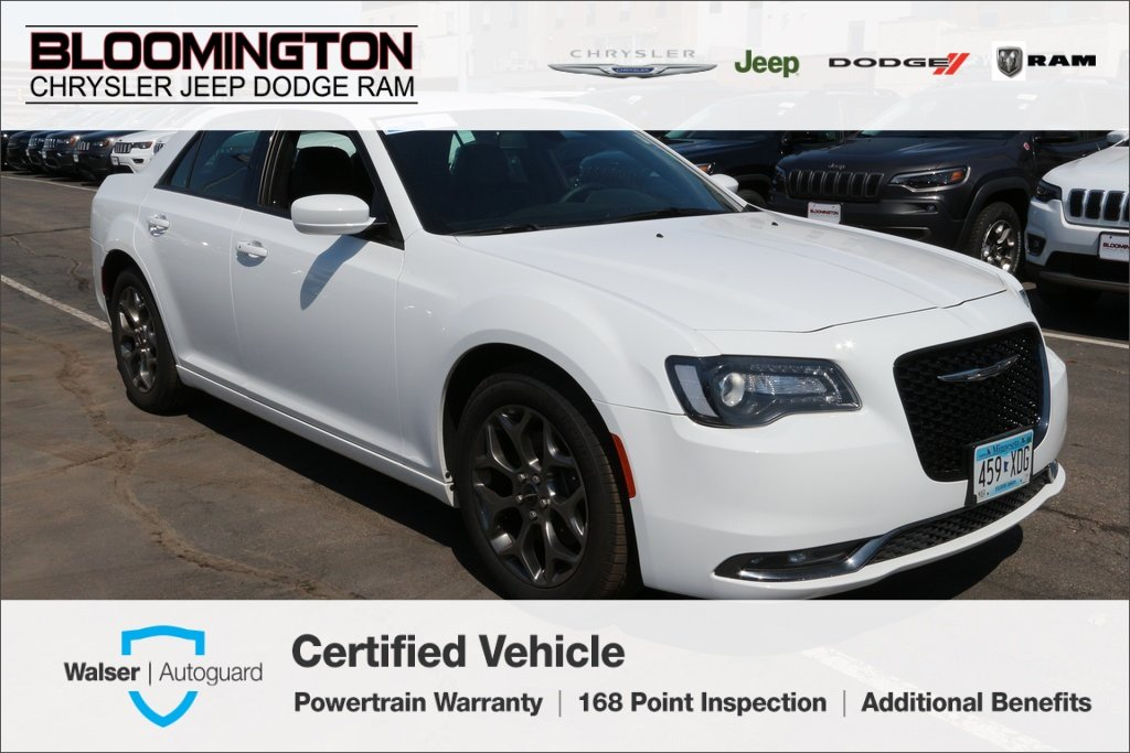 Pre-Owned 2017 Chrysler 300 300 S AWD Heated Leather Beats Audio Back-up Cam