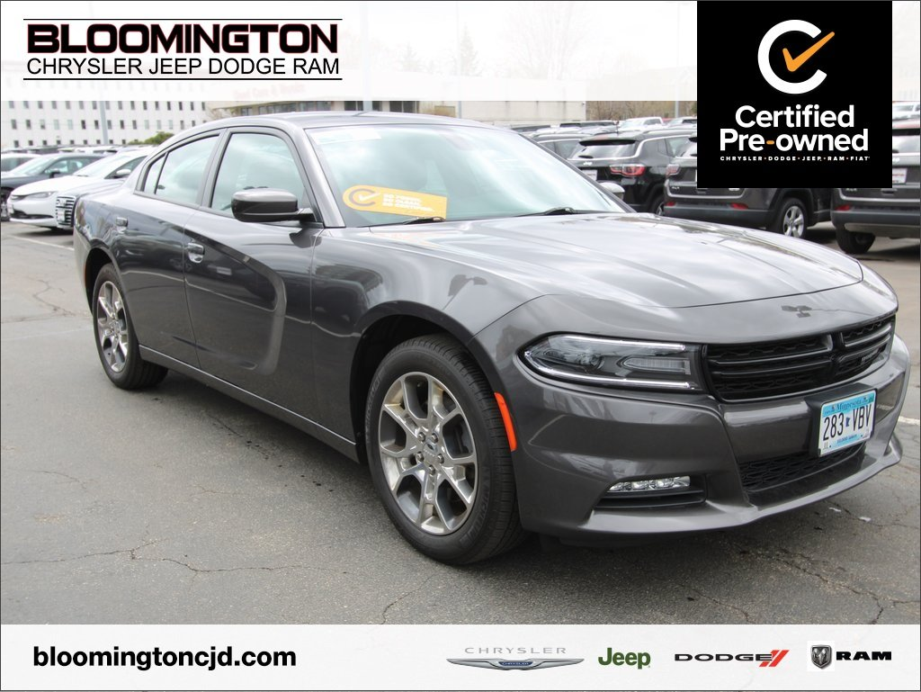Pre-Owned 2016 Dodge Charger SXT Plus AWD Heated Leather Back-up Camera