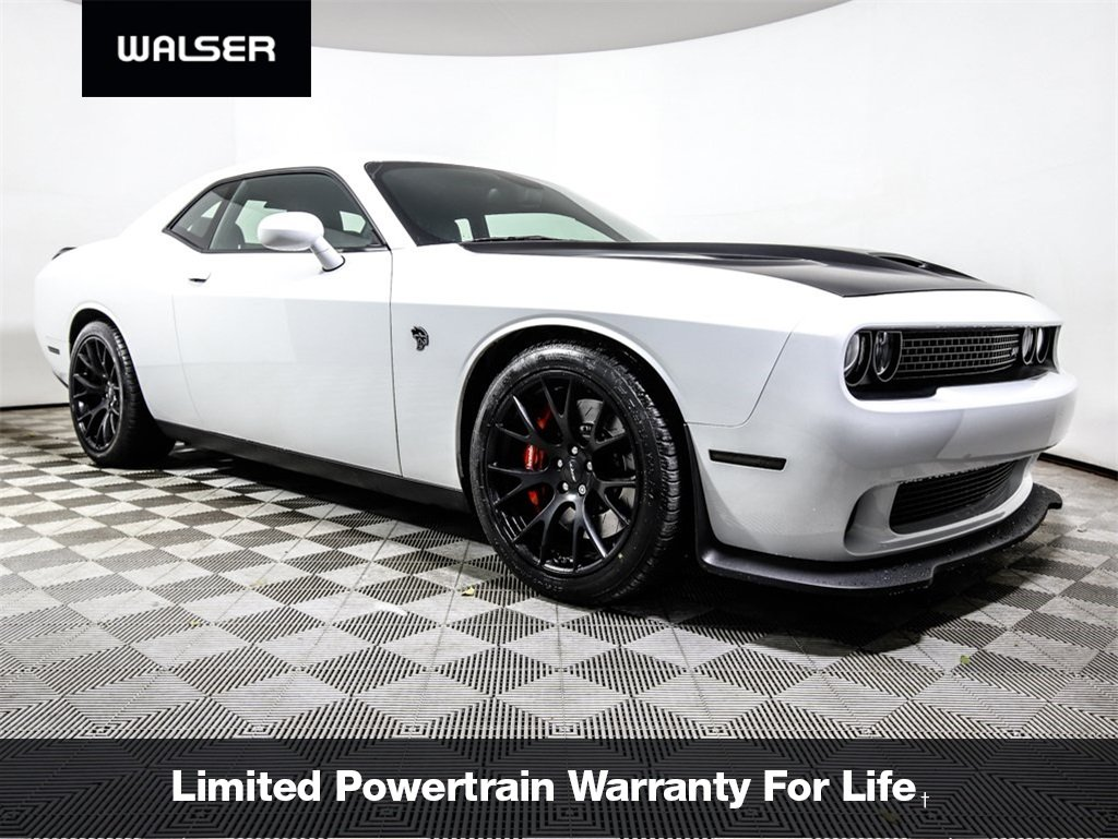 Pre Owned 2016 Dodge Challenger Hellcat Coupe In 14al898p Walser