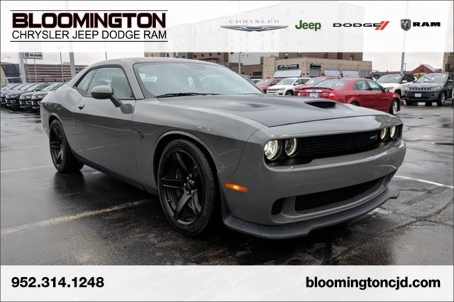 Pre-Owned 2018 Dodge Challenger SRT Hellcat Automatic