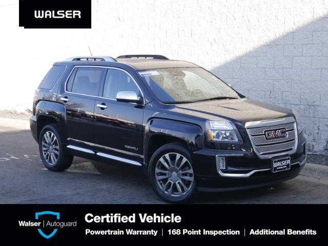 Pre-Owned 2017 GMC Terrain DENALI-AWD-3.6L V6-MOON-NAV