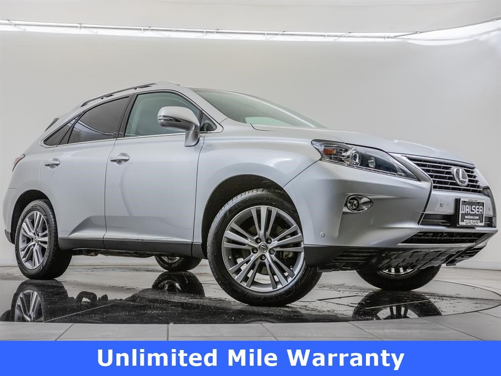 Certified Pre-Owned 2015 Lexus RX 350 Navigation