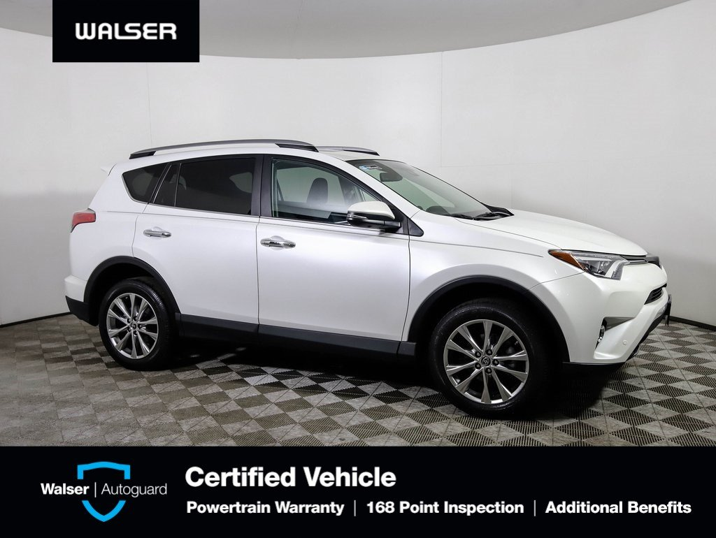 Pre Owned 2017 Toyota Rav4 Limited Awd