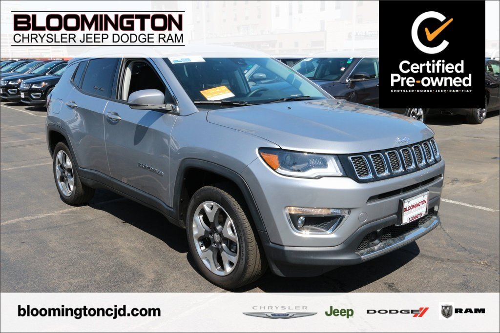 Pre-Owned 2018 Jeep Compass CERTIFIED Limited 4x4 Navigatiion