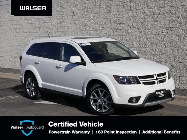 Pre-Owned 2018 Dodge Journey GT-AWD-LTHR HTD-NAV-3RD ROW
