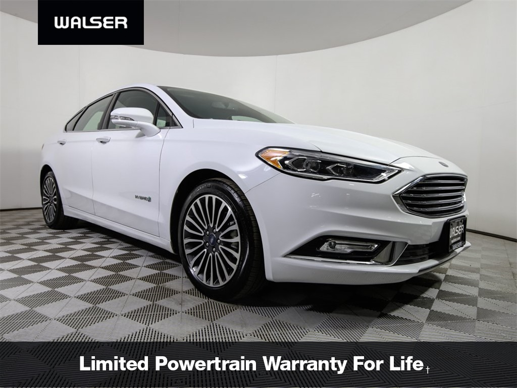 Pre owned 2018 ford fusion hybrid titanium