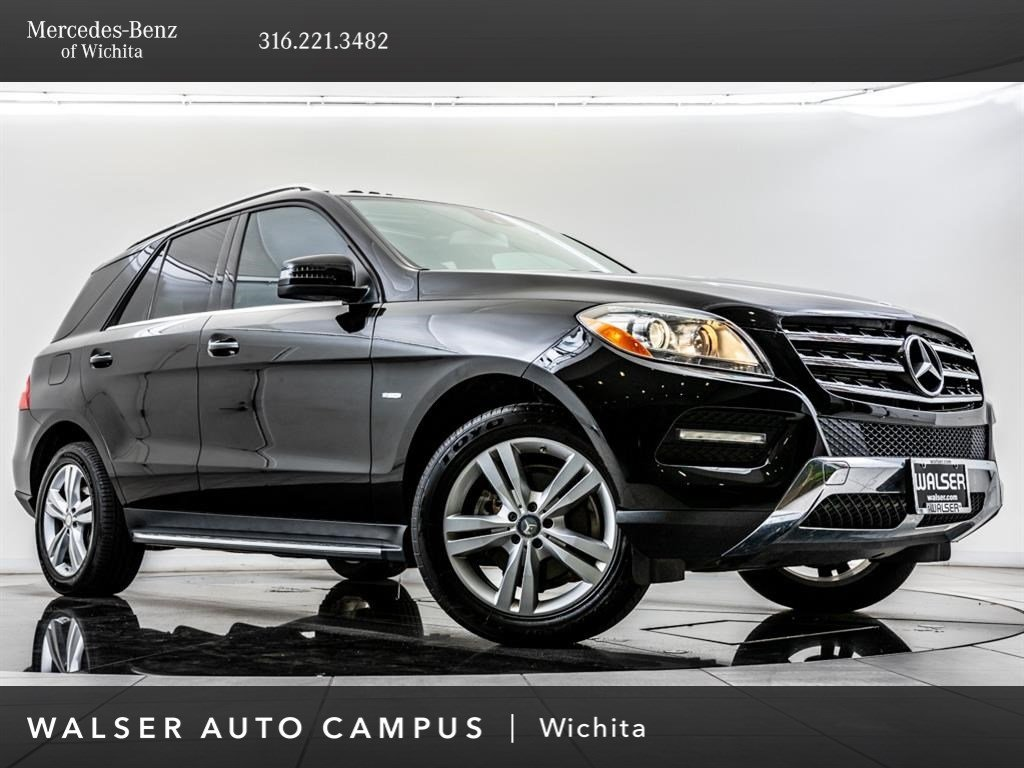 Pre-Owned 2012 Mercedes-Benz M-Class ML350 4MATIC®, Premium 2 Pkg