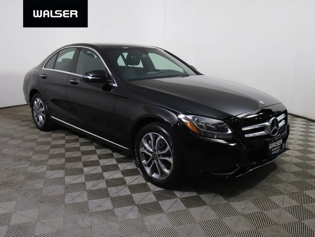 Pre-Owned 2018 Mercedes-Benz C-Class C 300 4MATIC® w/ Premium Package