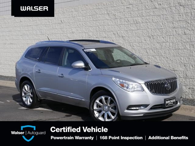 Pre-Owned 2016 Buick Enclave PREMIUM-AWD-NAV-MOON-TOW