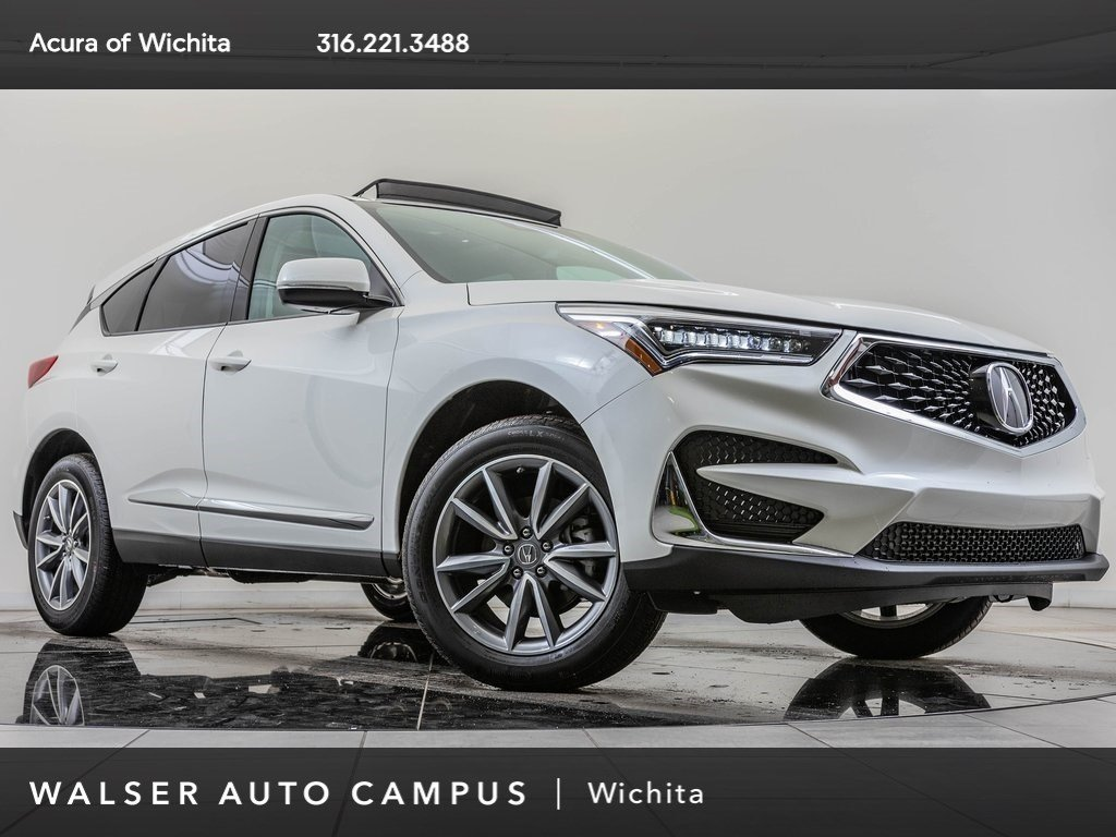 New 2019 Acura RDX Tech FWD, Pano Rf, Blnd Spt, CarPlay, BT, ELS Aud
