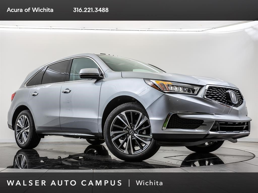 New 2019 Acura MDX AWD With Navigation & AWD