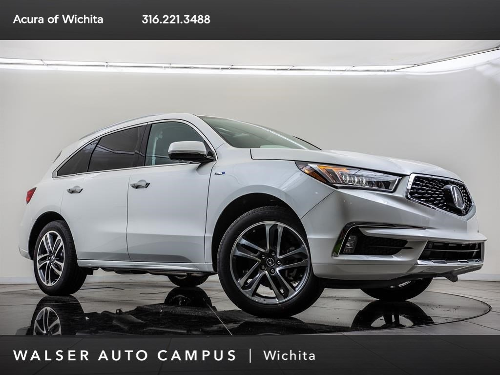 New 2019 Acura MDX w/Advance Package AWD