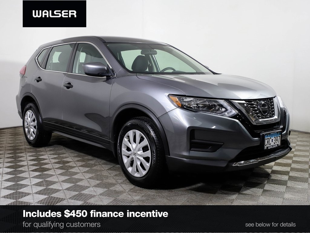 Certified Pre-Owned 2018 Nissan Rogue S AWD BLIND SPOT MONITOR CAMERA  BLUETOOTH APPLE CARPLAY AWD