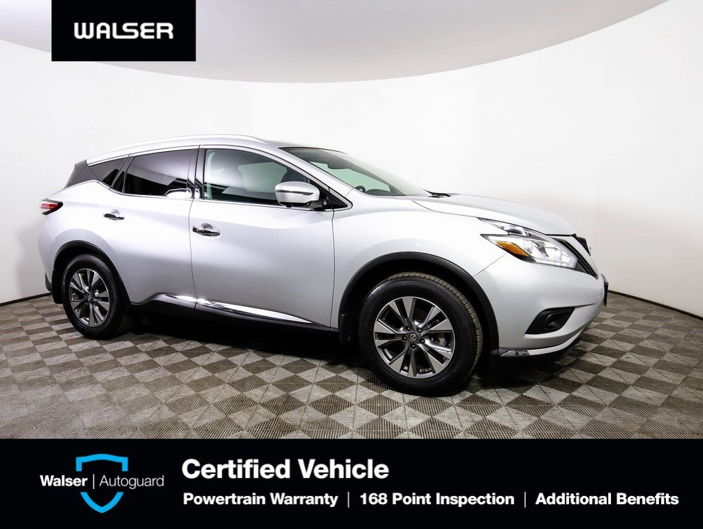 Certified Pre-Owned 2015 Nissan Murano SL w/ Technology Package