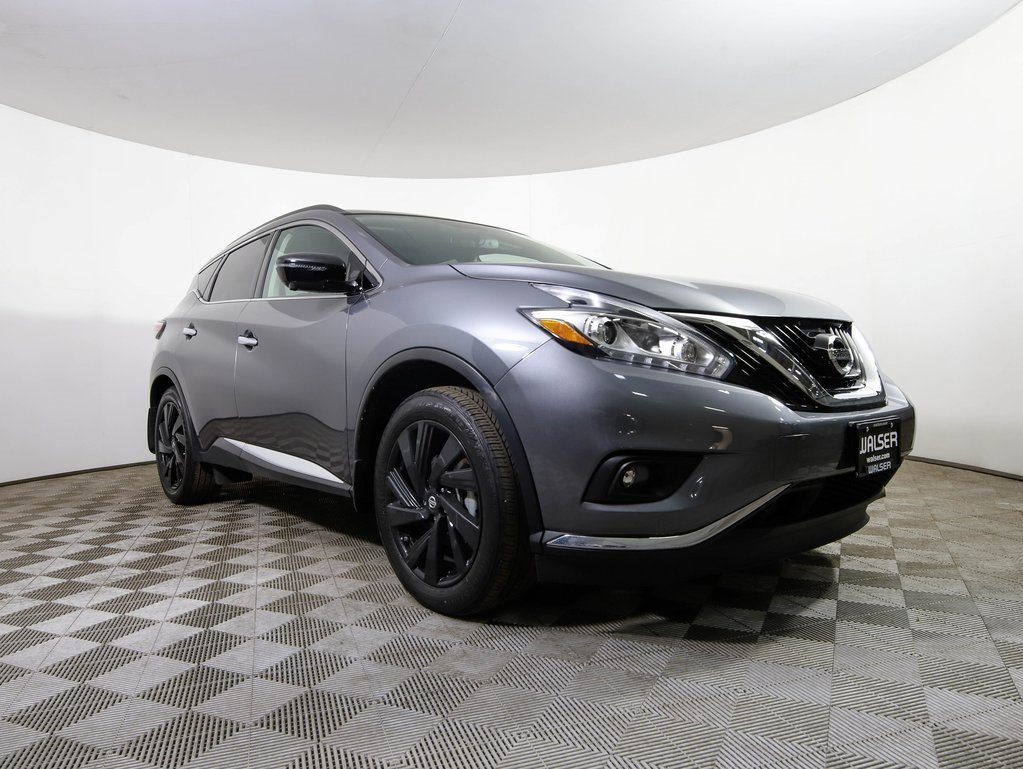 Certified Pre-Owned 2017 Nissan Murano Platinum w/ Tech & Midnight Edition Package