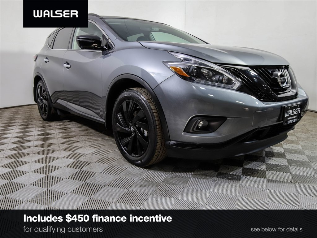 Certified Pre-Owned 2018 Nissan Murano SL w/ Midnight Edition Package